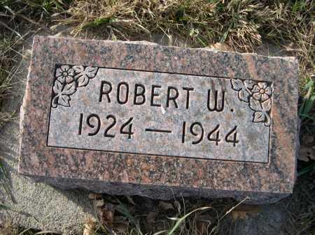 HOMANN, ROBERT W. - Douglas County, Nebraska | ROBERT W. HOMANN - Nebraska Gravestone Photos