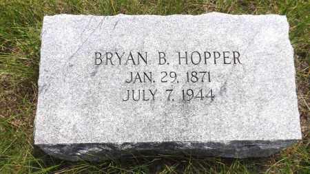 HOPPER, BRYAN B. - Douglas County, Nebraska | BRYAN B. HOPPER - Nebraska Gravestone Photos