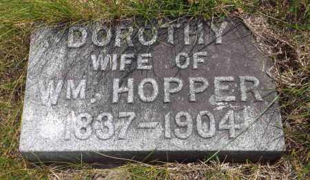 HOPPER, DOROTHY - Douglas County, Nebraska | DOROTHY HOPPER - Nebraska Gravestone Photos
