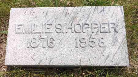 HOPPER, EMILIE S. - Douglas County, Nebraska   EMILIE S. HOPPER - Nebraska Gravestone Photos