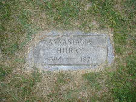 HORKY, ANNASTACIA - Douglas County, Nebraska | ANNASTACIA HORKY - Nebraska Gravestone Photos