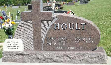 HOULT, MARY JEAN - Douglas County, Nebraska   MARY JEAN HOULT - Nebraska Gravestone Photos