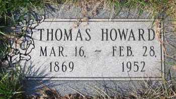 HOWARD, THOMAS - Douglas County, Nebraska | THOMAS HOWARD - Nebraska Gravestone Photos