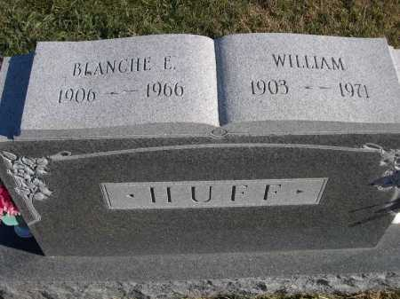 HUFF, BLANCHE E. - Douglas County, Nebraska | BLANCHE E. HUFF - Nebraska Gravestone Photos