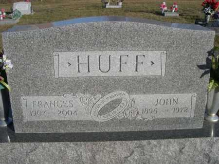 HUFF, FRANCES - Douglas County, Nebraska   FRANCES HUFF - Nebraska Gravestone Photos