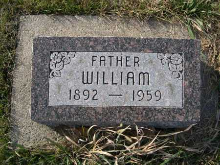 HOMANN, WILLIAM - Douglas County, Nebraska   WILLIAM HOMANN - Nebraska Gravestone Photos