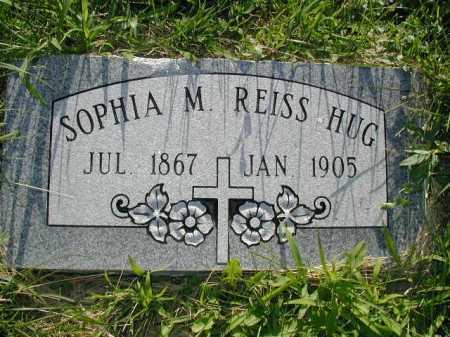 REISS HUG, SOPHIA M - Douglas County, Nebraska   SOPHIA M REISS HUG - Nebraska Gravestone Photos