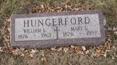 HUNGERFORD, MARY L. - Douglas County, Nebraska | MARY L. HUNGERFORD - Nebraska Gravestone Photos