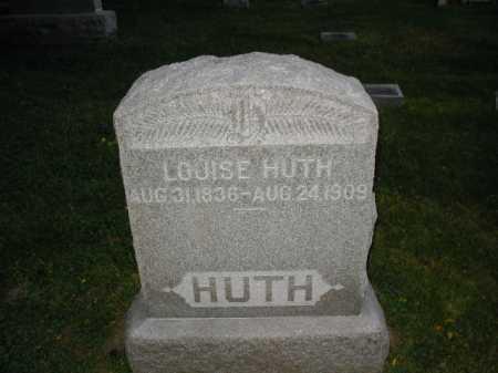 HUTH, LOUISE - Douglas County, Nebraska   LOUISE HUTH - Nebraska Gravestone Photos