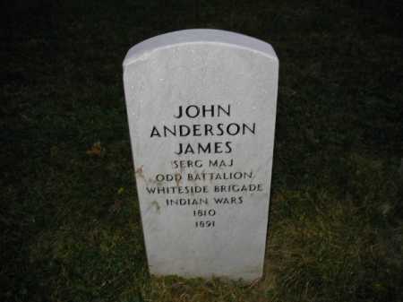 JAMES, JOHN ANDERSON - Douglas County, Nebraska | JOHN ANDERSON JAMES - Nebraska Gravestone Photos
