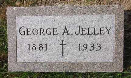 JELLEY, GEORGE A. - Douglas County, Nebraska | GEORGE A. JELLEY - Nebraska Gravestone Photos