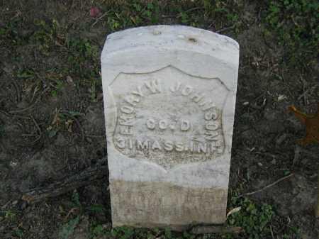 JOHNSON, EMORY W - Douglas County, Nebraska | EMORY W JOHNSON - Nebraska Gravestone Photos