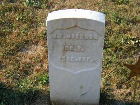 JOHNSON, J. F. - Douglas County, Nebraska | J. F. JOHNSON - Nebraska Gravestone Photos