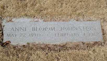 JOHNSTON, ANNE - Douglas County, Nebraska | ANNE JOHNSTON - Nebraska Gravestone Photos