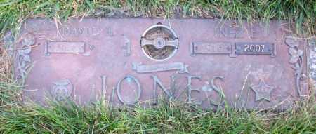 JONES, DAVID H - Douglas County, Nebraska | DAVID H JONES - Nebraska Gravestone Photos