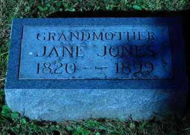JONES, JANE - Douglas County, Nebraska   JANE JONES - Nebraska Gravestone Photos