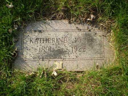 JONES, KATHERINE - Douglas County, Nebraska | KATHERINE JONES - Nebraska Gravestone Photos