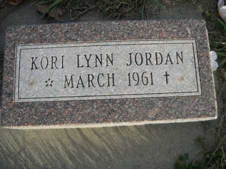 JORDAN, KORI LYNN - Douglas County, Nebraska | KORI LYNN JORDAN - Nebraska Gravestone Photos