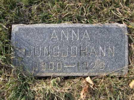 JUNGJOHANN, ANNA - Douglas County, Nebraska | ANNA JUNGJOHANN - Nebraska Gravestone Photos