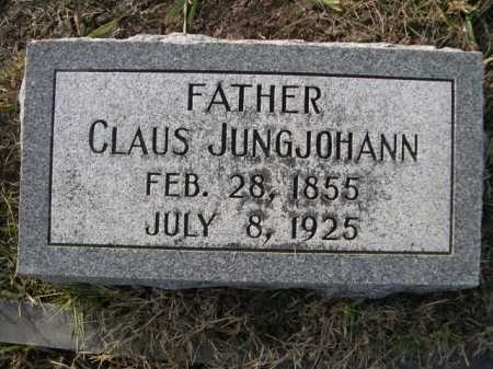 JUNGJOHANN, CLAUS - Douglas County, Nebraska | CLAUS JUNGJOHANN - Nebraska Gravestone Photos