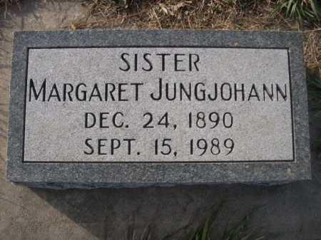 JUNGJOHANN, MARGARET - Douglas County, Nebraska   MARGARET JUNGJOHANN - Nebraska Gravestone Photos