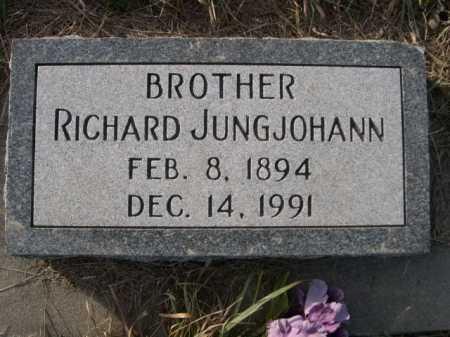 JUNGJOHANN, RICHARD - Douglas County, Nebraska   RICHARD JUNGJOHANN - Nebraska Gravestone Photos