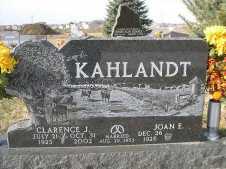 KAHLANDT, CLARENCE J. - Douglas County, Nebraska | CLARENCE J. KAHLANDT - Nebraska Gravestone Photos