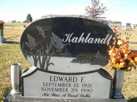 KAHLANDT, EDWARD F. - Douglas County, Nebraska | EDWARD F. KAHLANDT - Nebraska Gravestone Photos