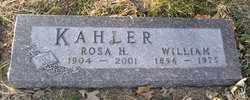 KAHLER, WILLIAM - Douglas County, Nebraska | WILLIAM KAHLER - Nebraska Gravestone Photos