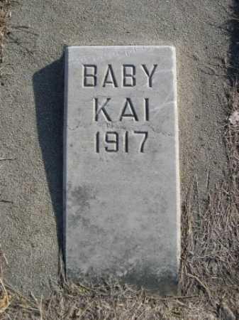 KAI, BABY - Douglas County, Nebraska | BABY KAI - Nebraska Gravestone Photos