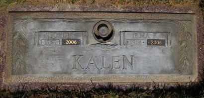 KALEN, FLOYD E. - Douglas County, Nebraska | FLOYD E. KALEN - Nebraska Gravestone Photos