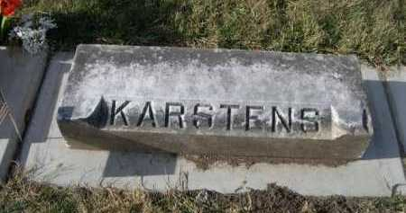 KARSTENS, FAMILY - Douglas County, Nebraska | FAMILY KARSTENS - Nebraska Gravestone Photos