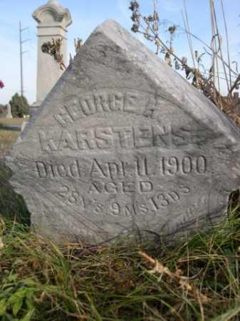 KARSTENS, GEORGE H. - Douglas County, Nebraska | GEORGE H. KARSTENS - Nebraska Gravestone Photos