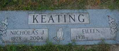 KEATING, NICHOLAS J. - Douglas County, Nebraska | NICHOLAS J. KEATING - Nebraska Gravestone Photos