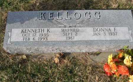 KELLOGG, KENNETH K. - Douglas County, Nebraska | KENNETH K. KELLOGG - Nebraska Gravestone Photos