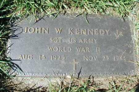 KENNEDY JR, JOHN W - Douglas County, Nebraska   JOHN W KENNEDY JR - Nebraska Gravestone Photos