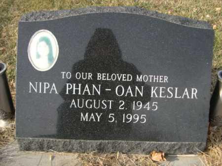 KESLAR, NIPA PHAN-OAN - Douglas County, Nebraska   NIPA PHAN-OAN KESLAR - Nebraska Gravestone Photos