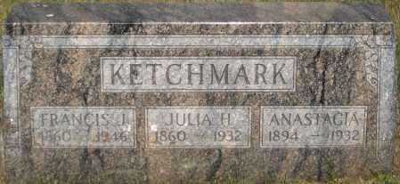 MC CARTHY KETCHMARK, JULIA HELEN - Douglas County, Nebraska | JULIA HELEN MC CARTHY KETCHMARK - Nebraska Gravestone Photos