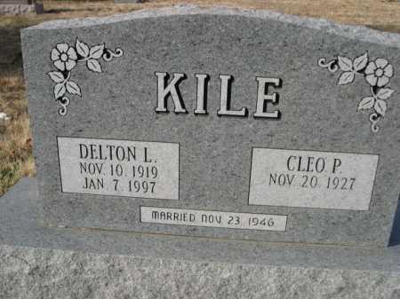 KILE, CLEO P. - Douglas County, Nebraska | CLEO P. KILE - Nebraska Gravestone Photos