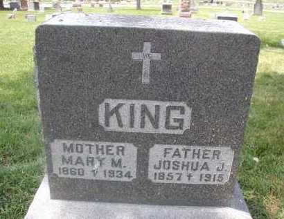 KING, JOSHUA J - Douglas County, Nebraska | JOSHUA J KING - Nebraska Gravestone Photos