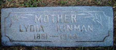 ALMQUIST KINMAN, LYDIA - Douglas County, Nebraska   LYDIA ALMQUIST KINMAN - Nebraska Gravestone Photos
