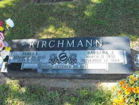 KIRCHMANN, BARBARA - Douglas County, Nebraska | BARBARA KIRCHMANN - Nebraska Gravestone Photos