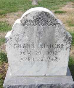 KISICKI, FRANK - Douglas County, Nebraska | FRANK KISICKI - Nebraska Gravestone Photos