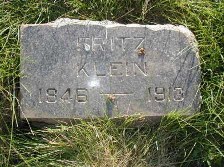 KLEIN, FRITZ - Douglas County, Nebraska | FRITZ KLEIN - Nebraska Gravestone Photos