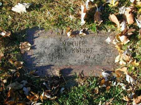 KNIGHT, ELLA - Douglas County, Nebraska | ELLA KNIGHT - Nebraska Gravestone Photos