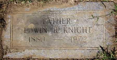 KNIGHT, EDWIN R. - Douglas County, Nebraska | EDWIN R. KNIGHT - Nebraska Gravestone Photos
