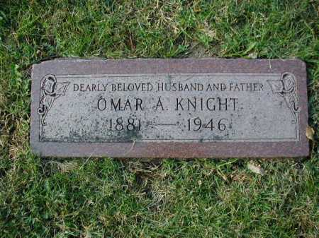 KNIGHT, OMAR ARTHUR - Douglas County, Nebraska | OMAR ARTHUR KNIGHT - Nebraska Gravestone Photos