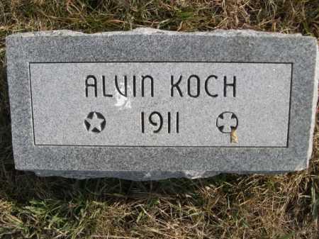 KOCH, ALVIN - Douglas County, Nebraska   ALVIN KOCH - Nebraska Gravestone Photos
