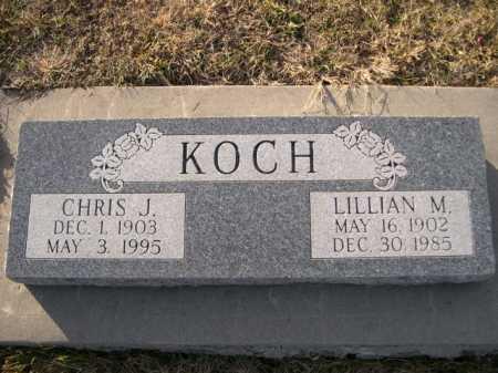KOCH, CHRIS J. - Douglas County, Nebraska | CHRIS J. KOCH - Nebraska Gravestone Photos