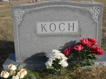 KOCH, FAMILY - Douglas County, Nebraska | FAMILY KOCH - Nebraska Gravestone Photos